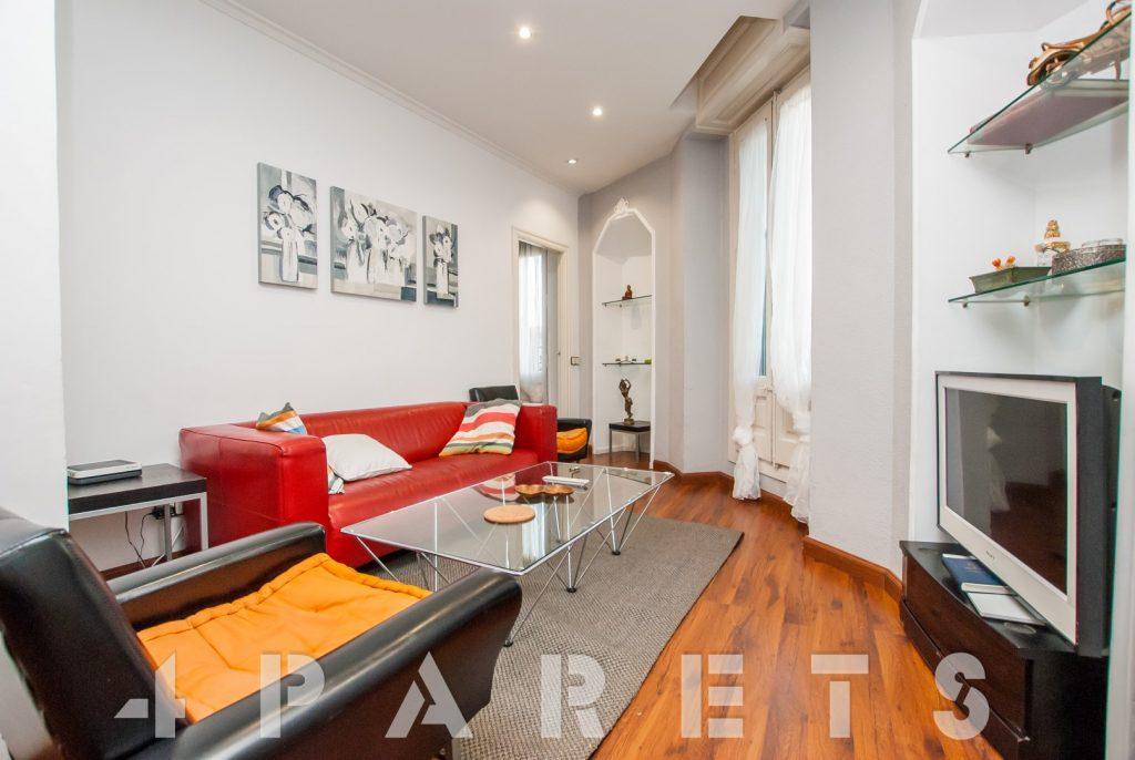 Sensacional Piso Amueblado De 2 Habitaciones En Via Laietana Barcelona